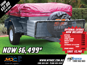 2017 MDC OFFROAD DELUXE CAMPER TRAILER Mount Louisa Townsville City Preview