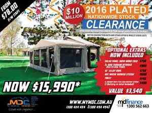 MDC JACKSON REARFOLD HARDFLOOR CAMPER TRAILER Mount Louisa Townsville City Preview