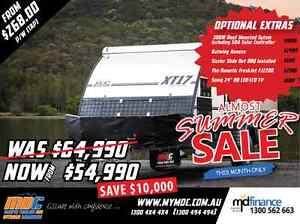 NEW MDC XT-17 OFFROAD HYBRID CARAVAN SALE - CAMPER TRAILER PARK Salisbury Brisbane South West Preview