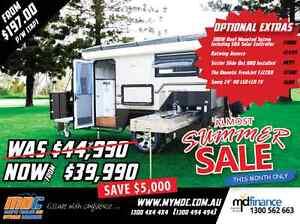 NEW MDC XT-12 OFFROAD HYBRID CARAVAN SALE - CAMPER TRAILER PARK Mount Louisa Townsville City Preview