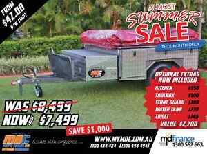 NEW MDC T-BOX CAMPER TRAILER 4X4 TENT 4WD OFFROAD SALE ROAD Salisbury Brisbane South West Preview