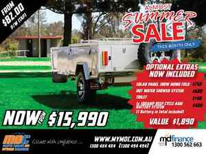 NEW OFFROAD REARFOLD HARDFLOOR CAMPER TRAILER 4X4 4WD HARD SALE Mount Louisa Townsville City Preview