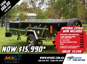 2017 MDC JACKSON REARFOLD HARDFLOOR CAMPER TRAILER Balcatta Stirling Area Preview