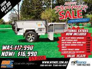 NEW OFFROAD FORWARD FOLD HARDFLOOR CAMPER TRAILER 4X4 4WD HARD Mount Louisa Townsville City Preview