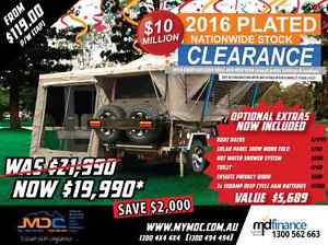 2016 MDC CRUIZER HIGHSIDE HARDFLOOR CAMPER TRAILER Mount Louisa Townsville City Preview