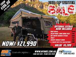 NEW OFFROAD FORWARD FOLD HARDFLOOR CRUIZER SLIDE CAMPER TRAILER Mount Louisa Townsville City Preview