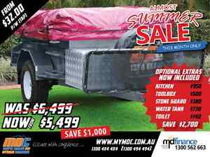 NEW MDC OFFROAD DELUXE CAMPER TRAILER 4X4 TENT 4WD ROAD SALE Salisbury Brisbane South West Preview