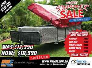NEW MDC STEPTHROUGH CAMPER TRAILER 4X4 TENT 4WD OFFROAD SALE ROAD Salisbury Brisbane South West Preview