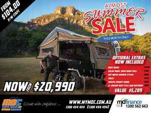 NEW OFFROAD FORWARD FOLD HARDFLOOR CRUIZER SLIDE CAMPER TRAILER Campbellfield Hume Area Preview