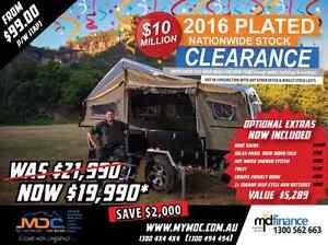 2016 MDC CRUIZER SLIDE HARDFLOOR CAMPER TRAILER Condell Park Bankstown Area Preview