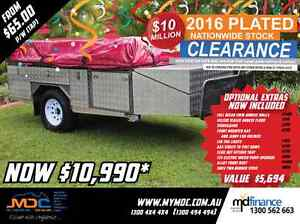 2016 MDC STEPTHROUGH SOFTFLOOR CAMPER TRAILER Mount Louisa Townsville City Preview