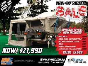 OFFROAD FORWARD FOLD HARDFLOOR CRUIZER HIGHSIDE CAMPER TRAILER Campbellfield Hume Area Preview
