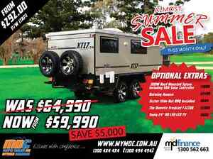 NEW MDC XT-17T OFFROAD HYBRID CARAVAN SALE - CAMPER TRAILER PARK Mount Louisa Townsville City Preview