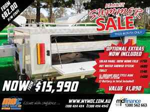 NEW OFFROAD REARFOLD HARDFLOOR CAMPER TRAILER 4X4 4WD HARD SALE Salisbury Brisbane South West Preview