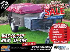 NEW EXPLORER SOFT FLOOR OFFROAD CAMPER TRAILER 4X4 4WD ROAD SALE Salisbury Brisbane South West Preview