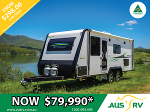 AUSRV BYFIELD 22-01 22ft ALL TERRAIN TOURING CARAVAN Condell Park Bankstown Area Preview