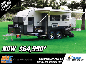 2017 MDC XT-17HRT OFFROAD CARAVAN Salisbury Brisbane South West Preview