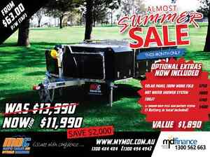 NEW OFFROAD EXPLORER REARFOLD HARDFLOOR CAMPER TRAILER 4X4 4WD Salisbury Brisbane South West Preview