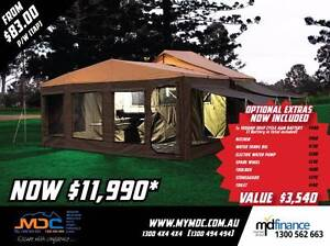 MDC EXPLORER HARDFLOOR CAMPER TRAILER Manunda Cairns City Preview