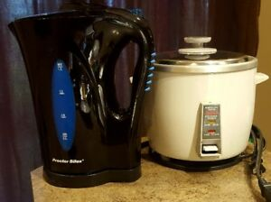 Kettle and Rice cooker