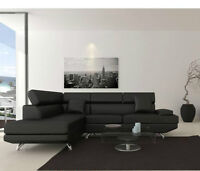 Brand new sectional with headrests only $698 lowest price in gta