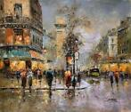 Christof Vevers (1962-) - Paris  - Grands Boulevards - Porte