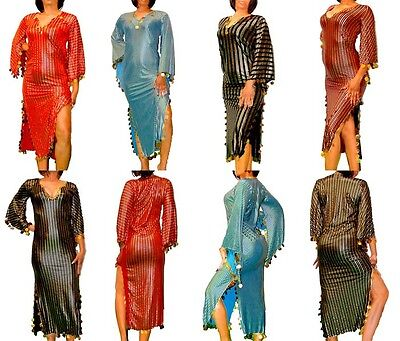 Großhandel Viel Bauchtanz Galabeya Abaya Kostüm Baladi Saidi - Tanz Kostüm Großhandel