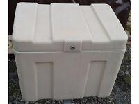 Conway trailer tent / folding camper / caravan FRIDGE / FRONT STORAGE BOX - locking with key
