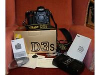 Nikon D3s camera body in great working condition.