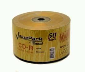 Traxdata 52x CD-R 50pk