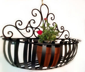 wrought iron pot plant holder planter holder planter rack
