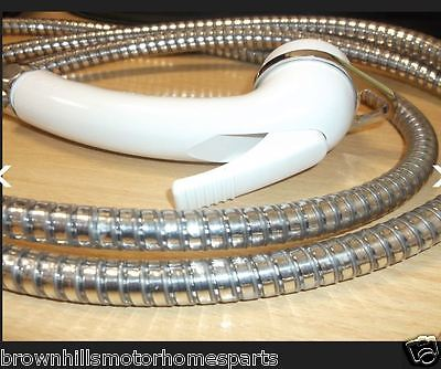 MOTORHOME & CARAVAN REICH EXTERNAL SHOWER HOSE & HEAD FOR CARISMA SHOWER POINT