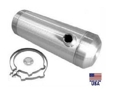10x30 END FILL SPUN ALUMINUM GAS TANK  OFF ROAD -BAJA BUG - SANDRAIL  3/8 NPT