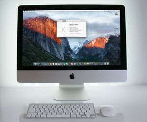 "21.5"" iMac ~ 3.06GHz/8GB/500GB ~ Upgraded ~ Apple-tested"