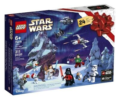 New LEGO 75279 Star Wars Advent Calendar Building Blocks Set (311 pcs) SEALED