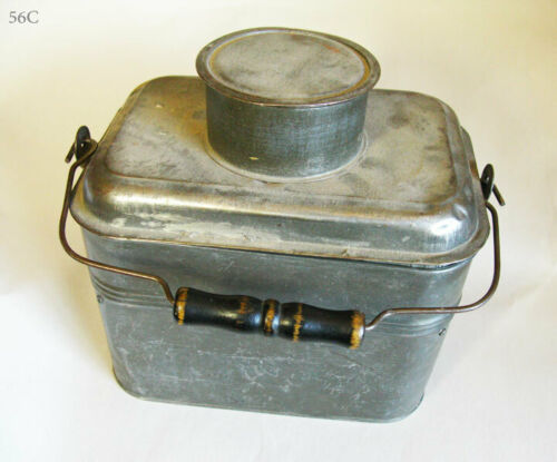 MINERS ANTIQUE LUNCH BOX 1800