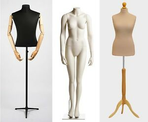 female body form mannequins on SALE! WITH AND WITHOUT  PATTERN