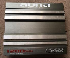 1200 Watts 2 Channel Car Amplifier