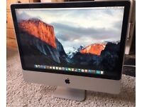 """High Spec Apple imac 24"""" , nice and fully working, fresh osx and great apps, you are welcome to try"""