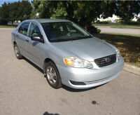 2005 TOYOTA COROLLA 186km SAFTEY AND ETEST 4500
