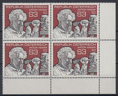 Österreich Austria 1984 ** Mi.1764 Hanak Bildhauer Skulptur Sculpture [sr1254]