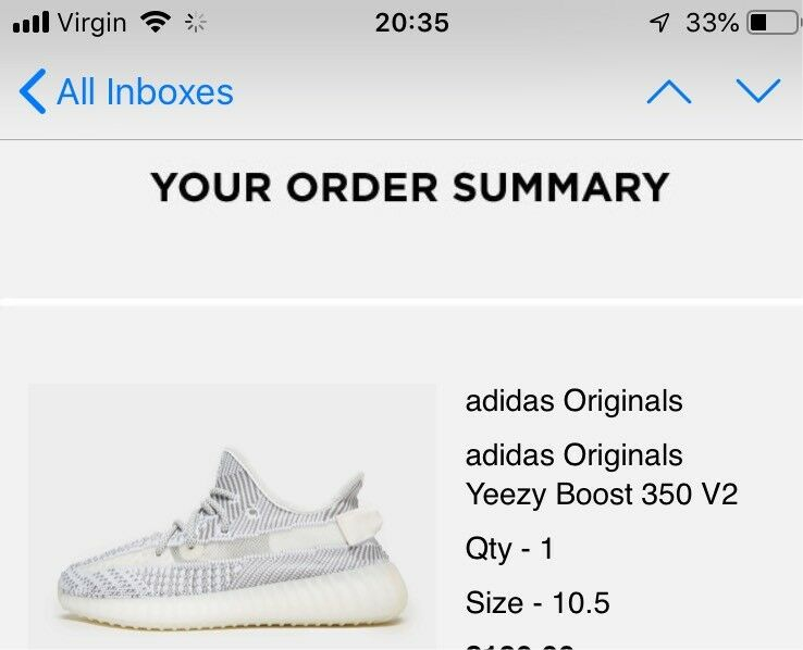 wholesale dealer 7d49e 530ae ADIDAS YEEZY BOOST 350 V2 STATIC NON-REFLECTIVE Size 10.5