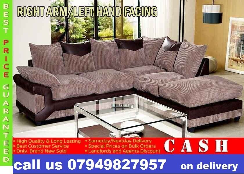 CHRISTMAS DISCOUNTS3 2 Seater Sofa Also Corner Suites Availablein South East London, LondonGumtree - STYLISH DEENO SUITES AVAILABLE IN DOUBLE TONE COLOR BLACK GREY OR BROWN BEIGE RECOMMENDED RETAIL PRICE ?599 OUR PIRCE ?319 FOR 3 2 OR CORNER SUITE DIMENSIONS Corner to armrest 250cm Corner to chaise 220cm Height from floor to scatter cushions 90cm...