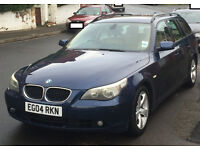 BMW 530d touring, automatic - serviced over a month ago