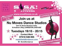 NEW SOSA Dance Fitness classes at Nu Moves Dance Studios, Livingston