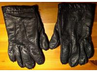 John Lewis Men's Leather Gloves