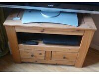Wooden Television (TV) Unit