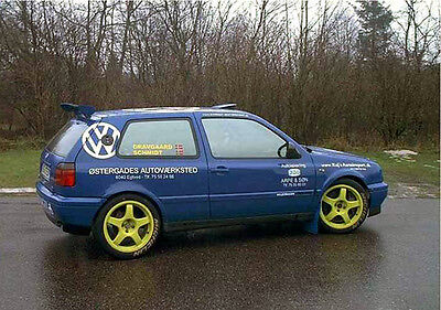 VW Golf 3 Gruppe A + Kitcar - Teilekatalog - Rallye / Racing / Motorsport