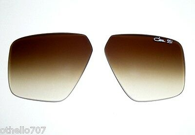 NEW Rare Cazal 951 Brown Gradient Replacement Sunglasses (New Cazal Sunglasses)