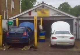 Motor Trade Workshop to let. Motor Repair Centre